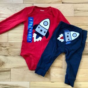 Space themed matching set size 12
